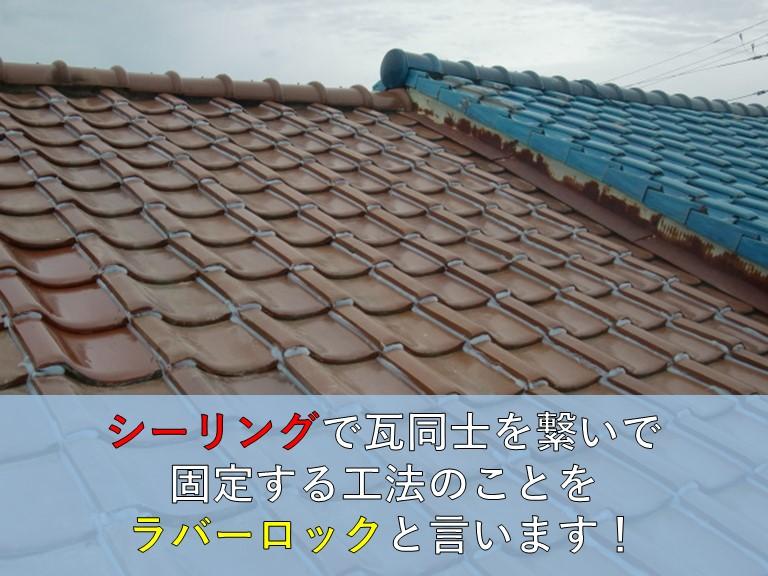 岸和田市の雨漏り修理で台風で飛ばされた瓦を復旧しました!