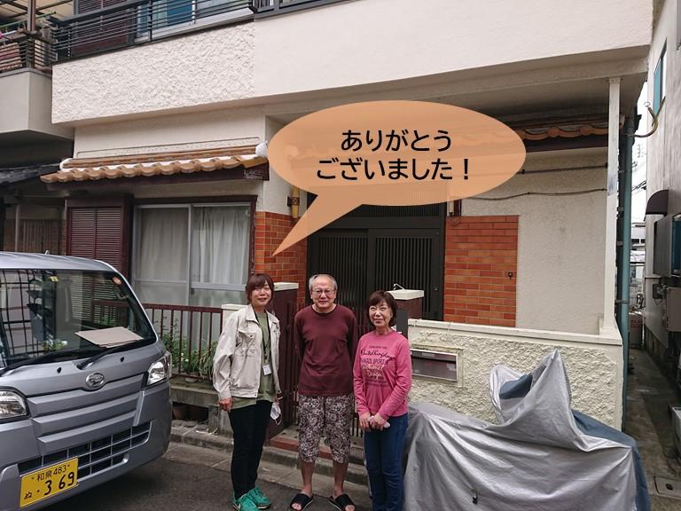 和泉市K様と記念撮影