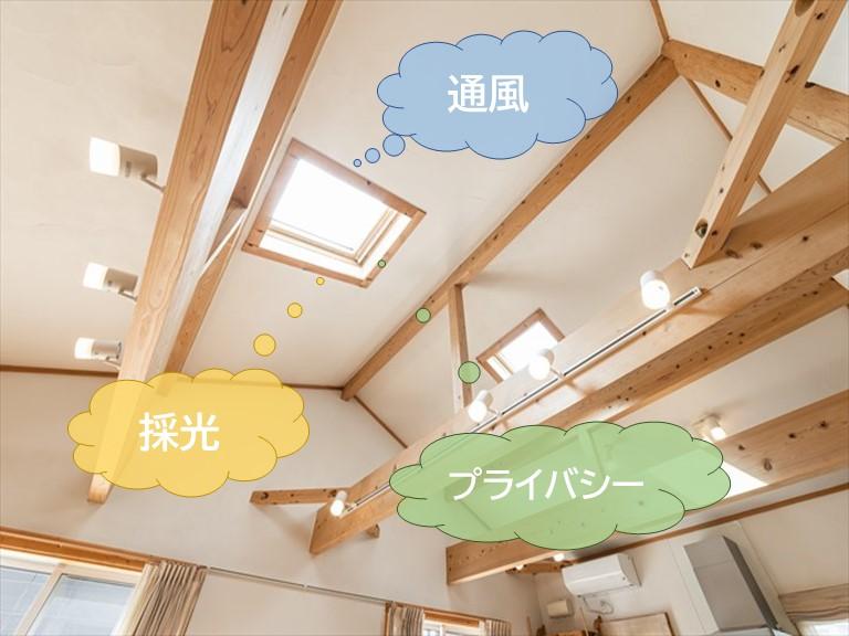 天窓のメリット