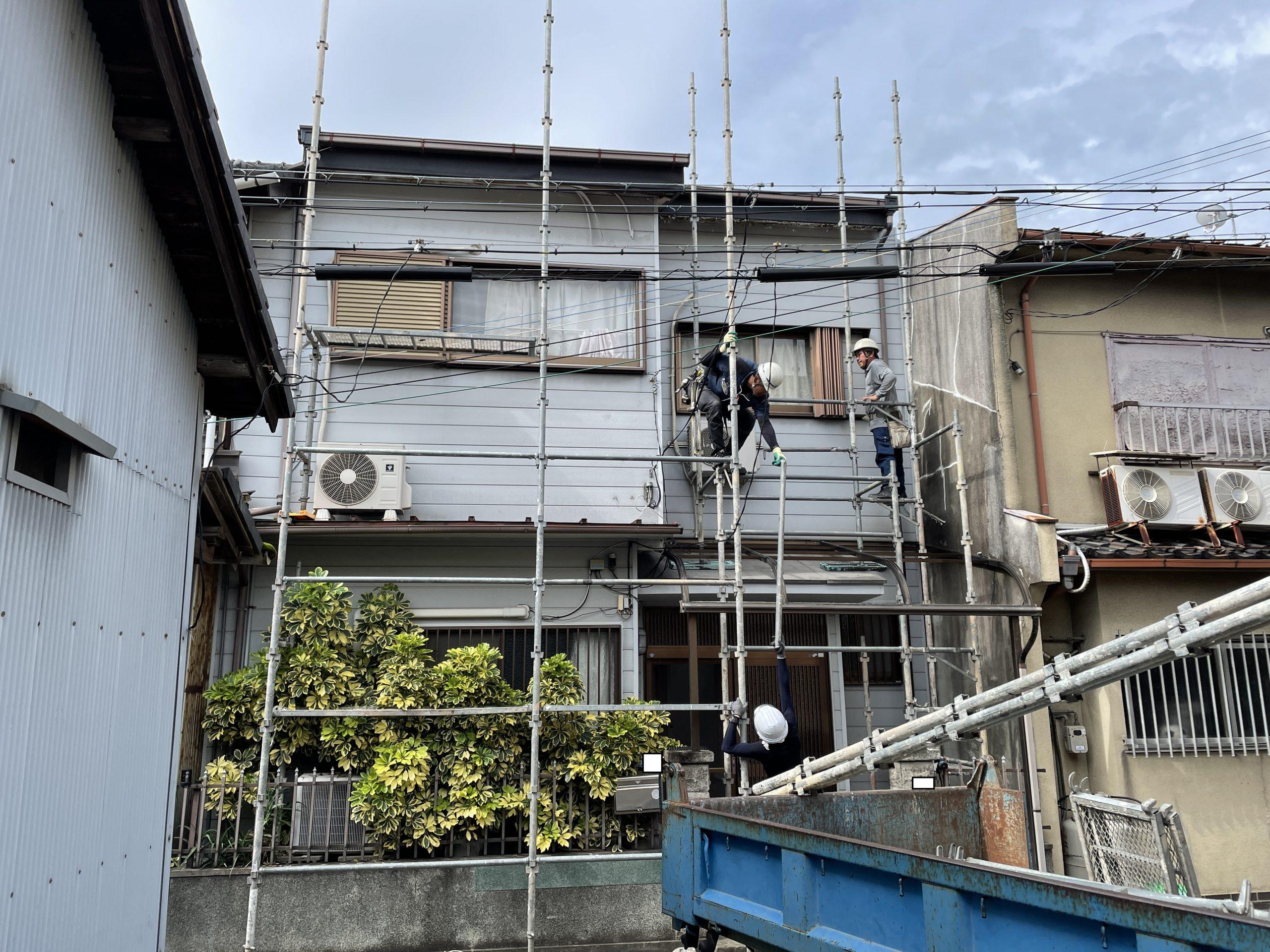 泉大津市の各所修理工事