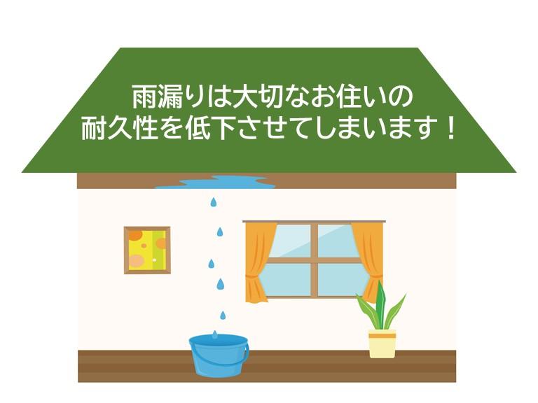 街の屋根やさんの雨漏り修理