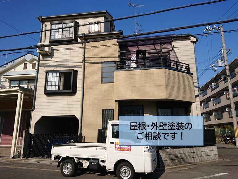 高石市の屋根・外壁塗装