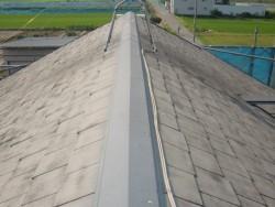 岸和田市八田町で屋根の塗装前