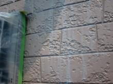 岸和田市八田町の外壁塗装下地塗り