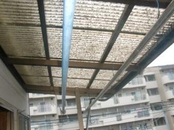 岸和田市春木のFRP波板