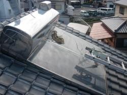 貝塚市の太陽熱温水器