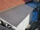 岸和田市西之内町のガルバリウム鋼板の屋根に葺き替え