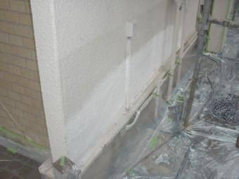 岸和田市天神山町の外壁の塗膜浮き補修