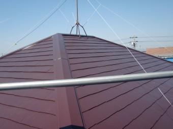 岸和田市西之内町の屋根塗装完了