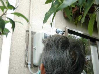 岸和田市畑町の散水調査