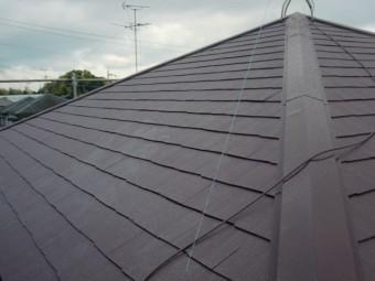 岸和田市尾生町の屋根塗装完了