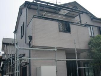 岸和田市八田町の目地シーリング打ち替え着工