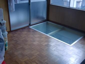 岸和田市小松里町の採光窓設置完了