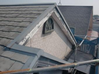 岸和田市八田町の塗装前の屋根