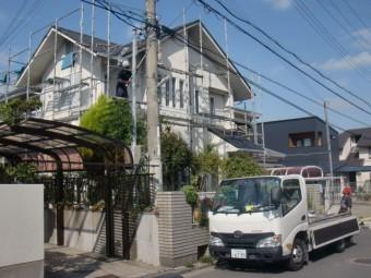 岸和田市岡山町の外壁・屋根塗装