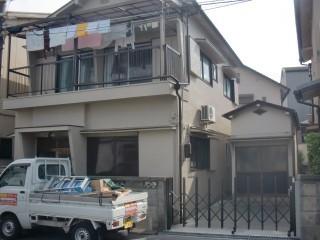 岸和田市吉井町の外壁塗装完了