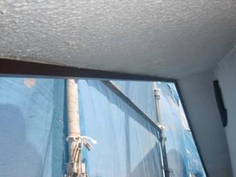 岸和田市摩湯町の破風板の内側の様子
