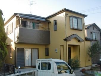 岸和田市尾生町の外壁塗装完了