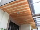 岸和田市 軒天井板張替完了