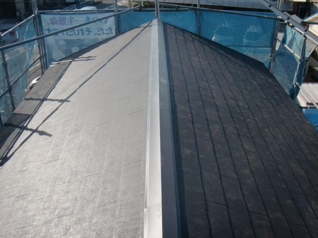 泉北郡忠岡町で屋根の葺き替え工事