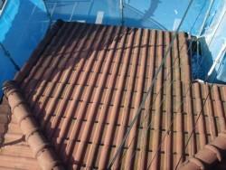岸和田市天神山町の屋根塗装前
