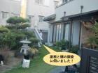 泉南市の屋根と樋の調査