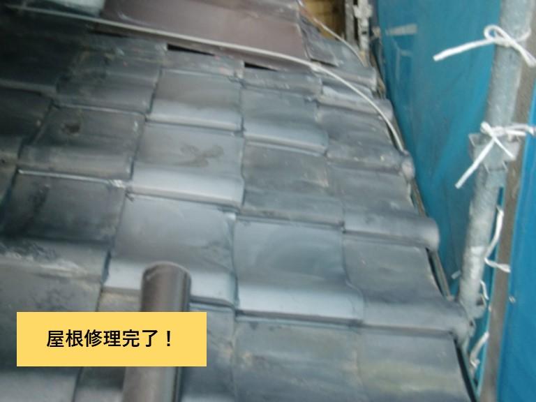 和泉市の屋根修理完了