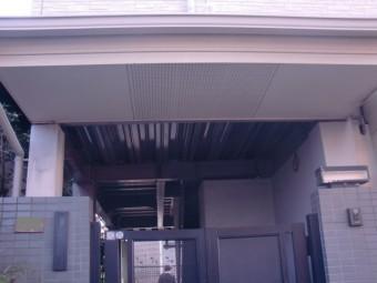 岸和田市春木の一階の玄関