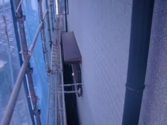 和泉市の庇も塗装