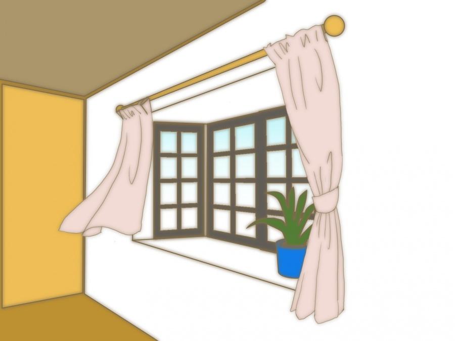 街の屋根やさん・出窓について