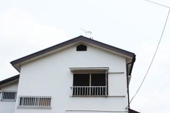 岸和田市摩湯町の破風板板金巻き工事完了