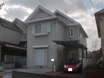 岸和田市下松町の外壁・屋根塗装着工