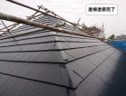泉佐野市のタスペーサーを入れた厚型スレート屋根の塗装 お客様の声