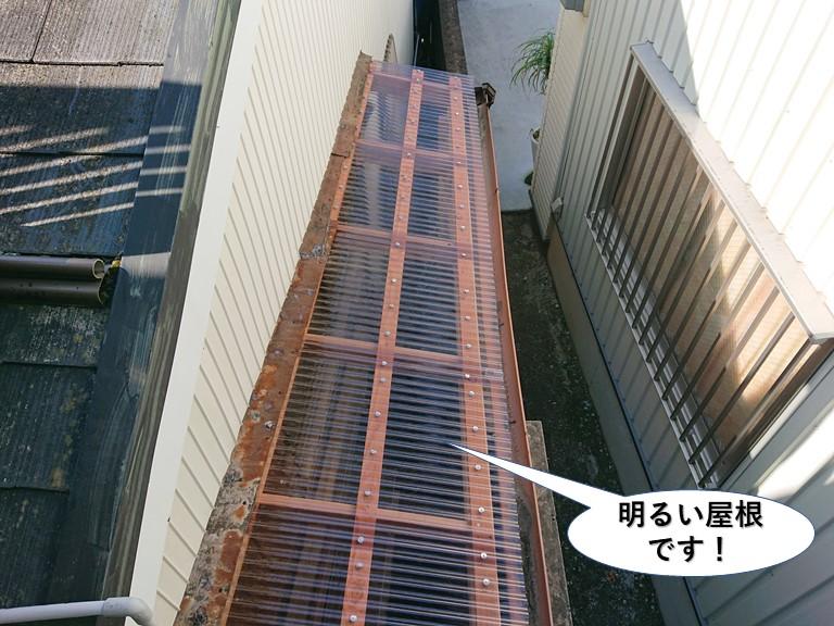 貝塚市で木製テラス設置完了状況