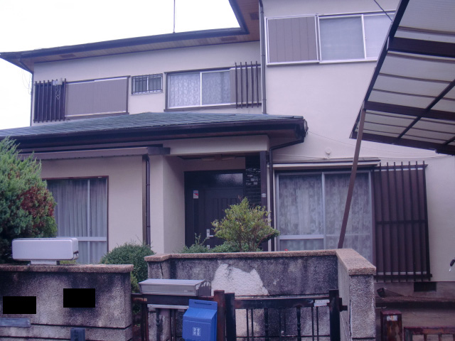 和泉市青葉台の雨漏り現地調査