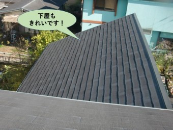 阪南市の下屋もきれいです