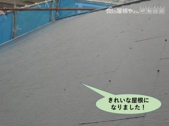 泉佐野市の屋根を塗装しきれいな屋根になりました
