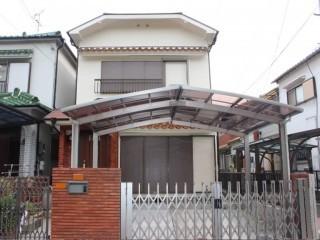 岸和田市のN様邸の工事完了