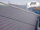 阪南市の屋根塗装完了です
