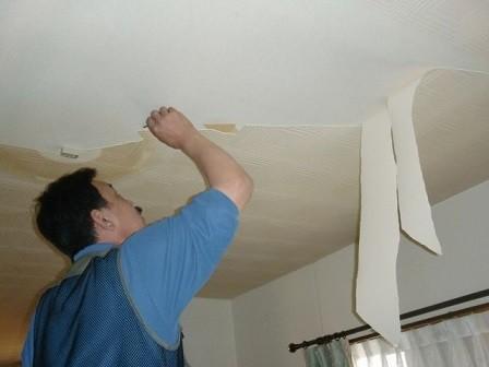 岸和田市真上町の外壁塗装と屋根塗装と同時にクロス貼替