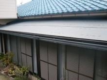 岸和田市の家の屋根下地は改質アスファルトルーフィング敷