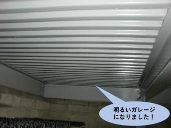 岸和田市/明るいガレージになりました!