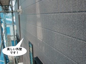 泉大津市の美しい外壁です
