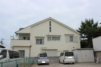 岸和田市春木本町の屋根葺き替えと外壁塗装完了