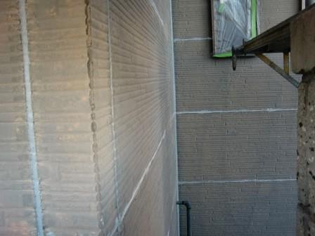 真上町の外壁塗装と屋根塗装で外壁防水処理