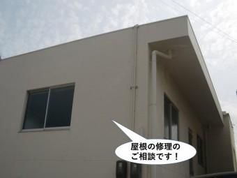 泉佐野市の屋根の修理のご相談
