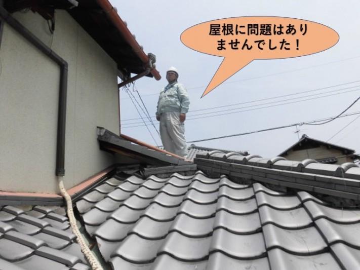岸和田市の屋根に問題はありません!