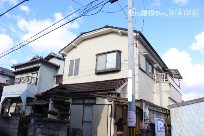 岸和田市の外壁塗装後