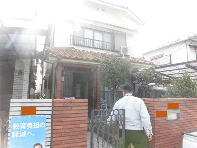 岸和田市のN様邸・工事前