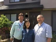阪南市鳥取の耐久年数が増した瓦屋根の塗装 お客様の声